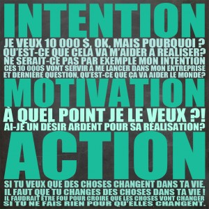 INTENTION-MOTIVATION-ACTION