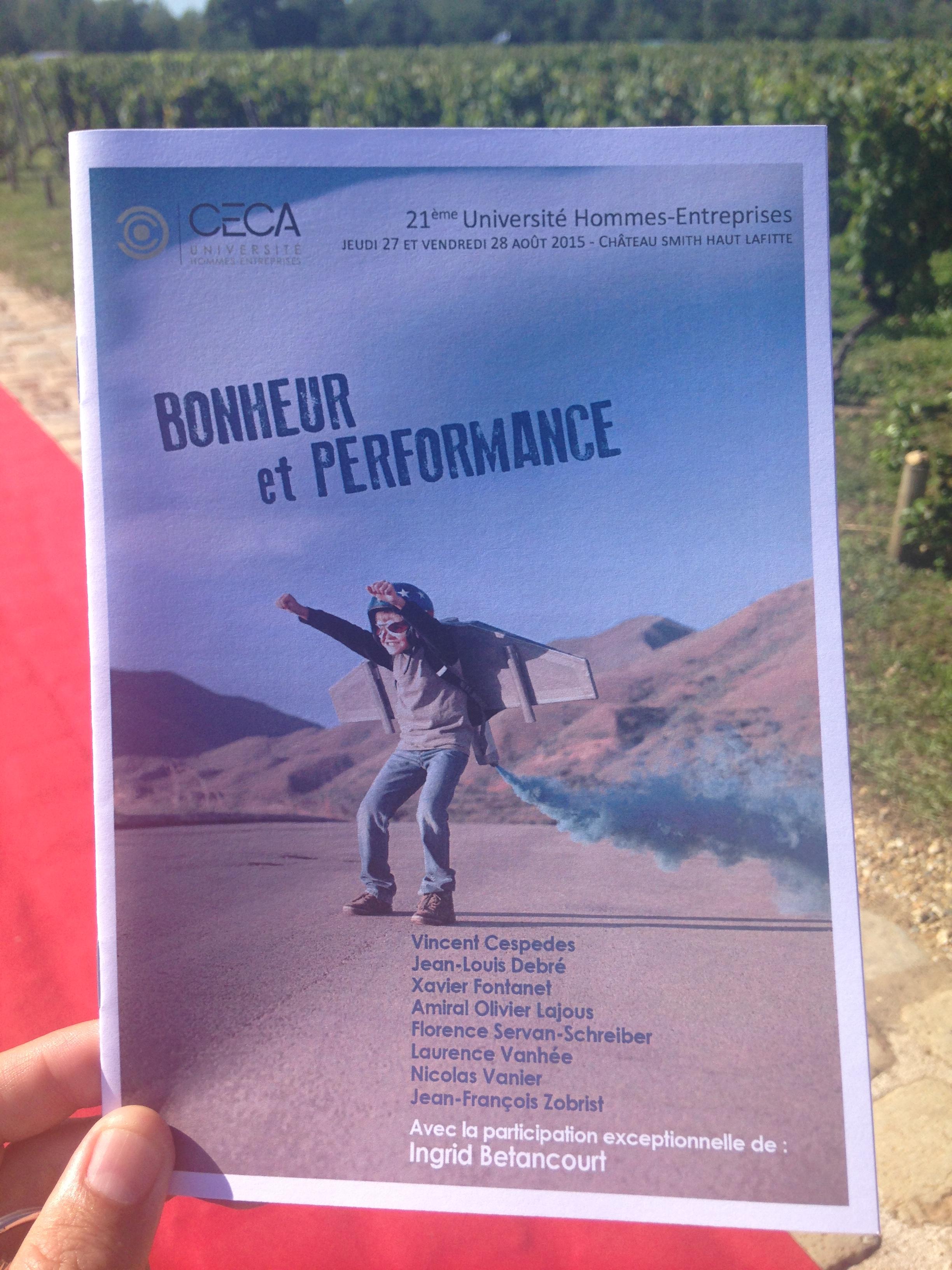 Bonheur et performance