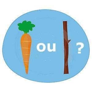 carotte ou bâton